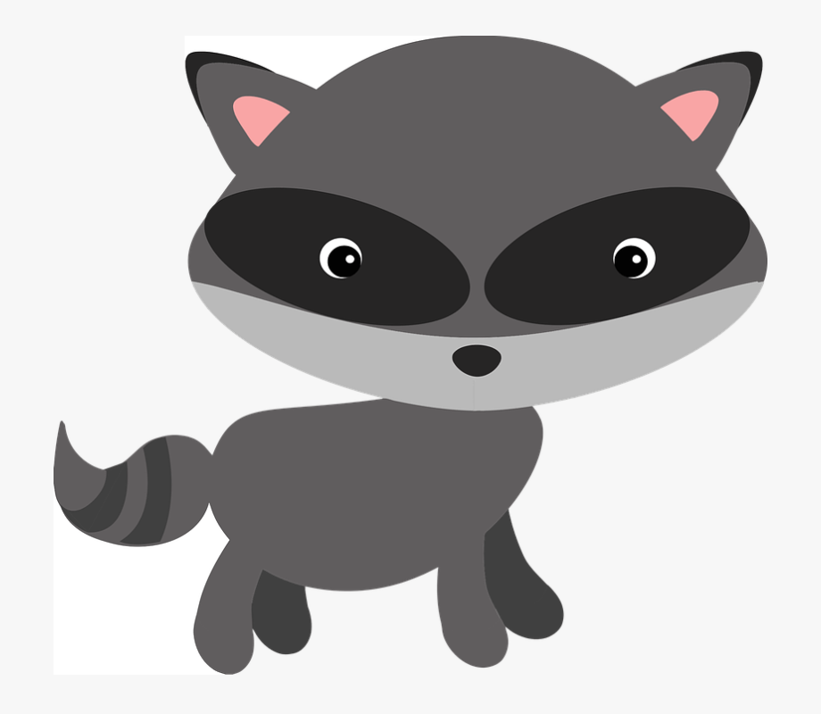 Free Vector Graphic Raccoon Woodland.