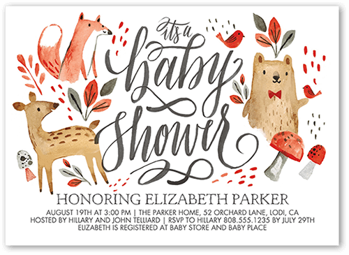 25+ Woodland Baby Shower Theme Ideas (Decorations, Games, & More).