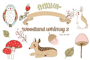 Banners clipart woodland, Banners woodland Transparent FREE.
