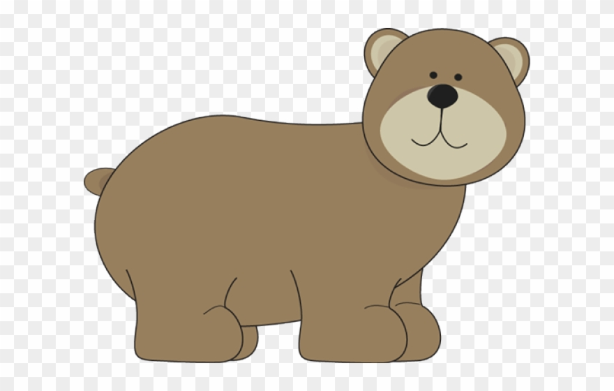 Grizzly Bear Clipart Woodland Bear.