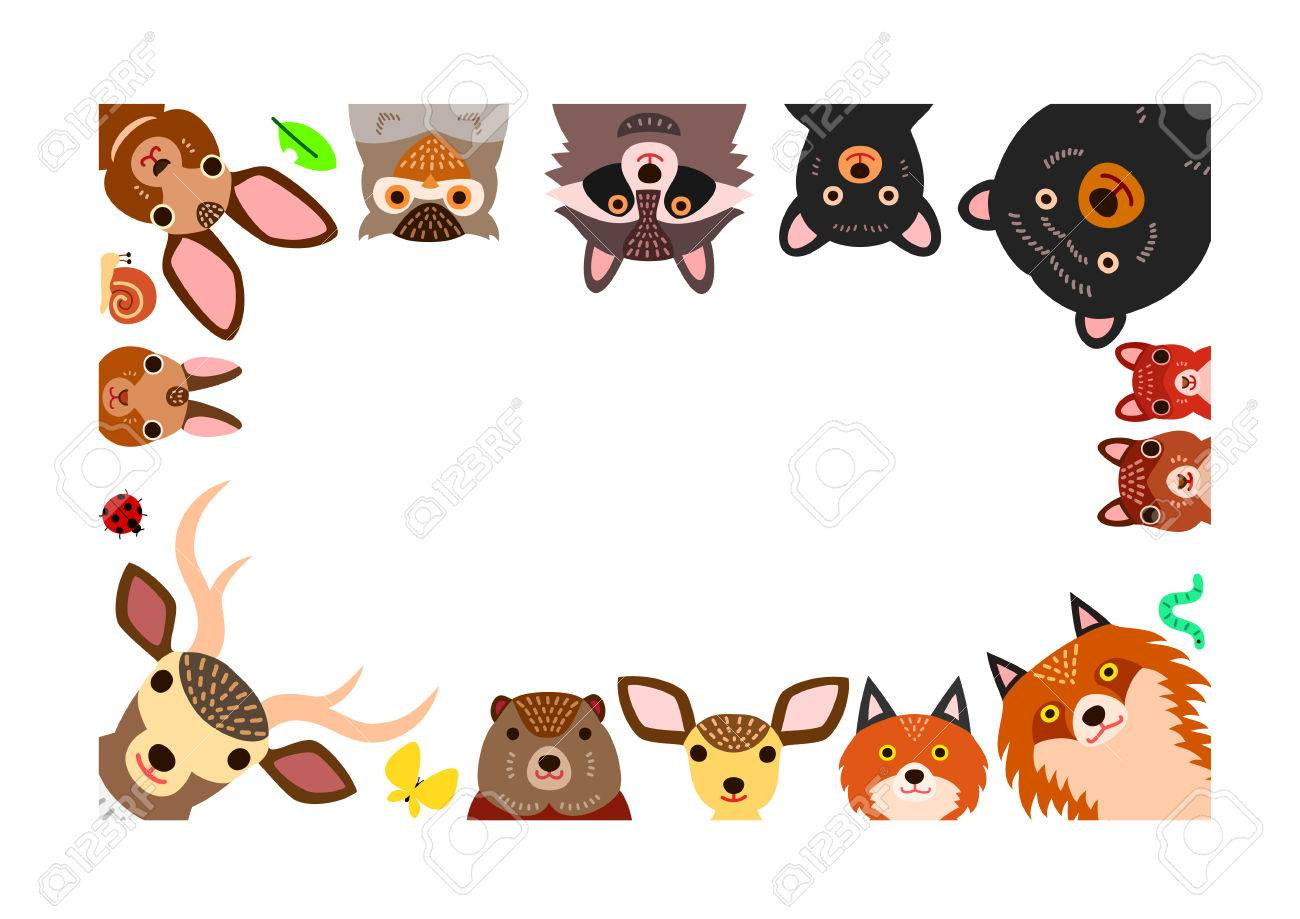 Woodland border clipart 3 » Clipart Station.