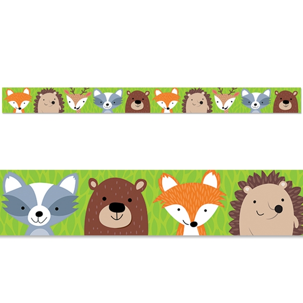 Woodland border clipart 5 » Clipart Station.