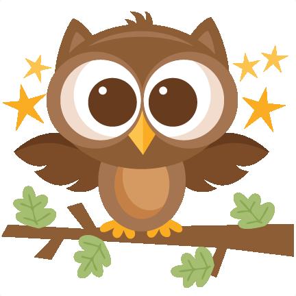Woodland Owl Clipart.