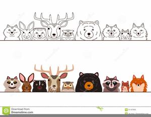 Woodland Creatures Clipart.