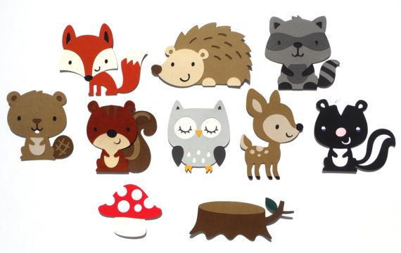 Baby Shower Woodland Animal Theme It\'s A Boy by.
