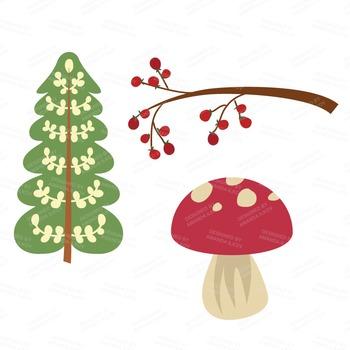 Premium Woodland Animals Clip Art & Vectors.
