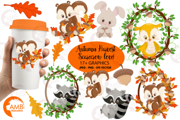 Woodland Critters Clipart.