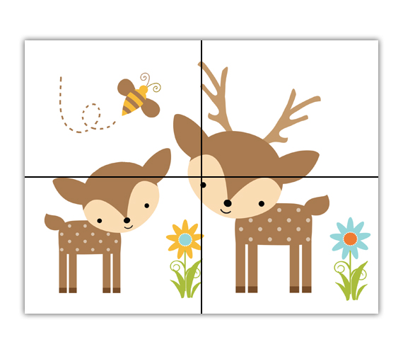 Woodland clipart deer, Woodland deer Transparent FREE for.