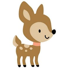 Woodland Baby Deer Clipart.