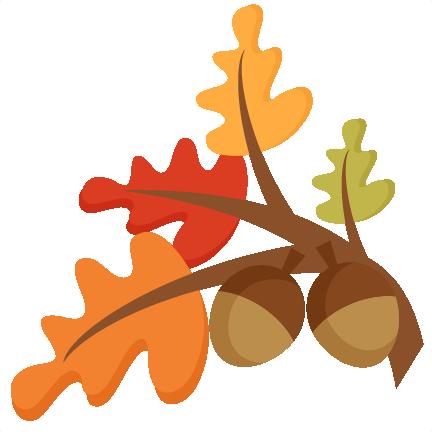 Free Leaf Border Clip Art.