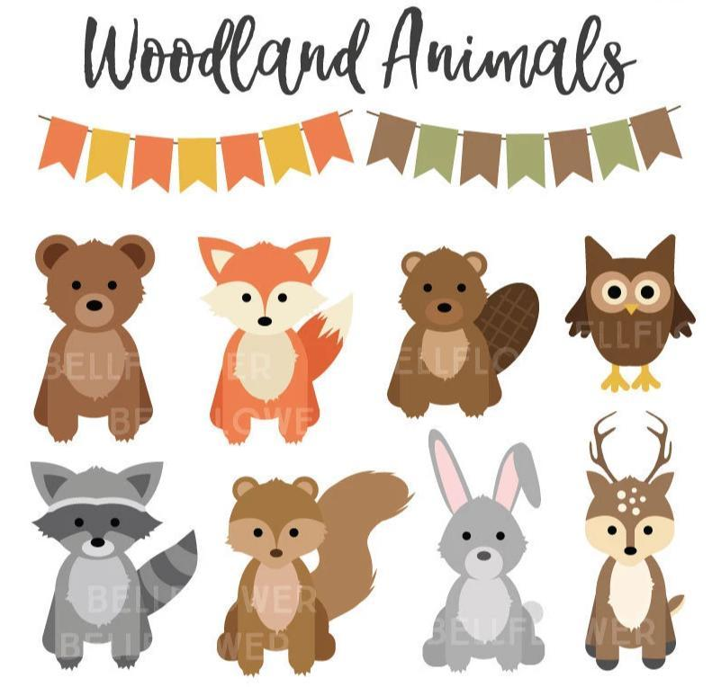 Woodland Animals SVG.