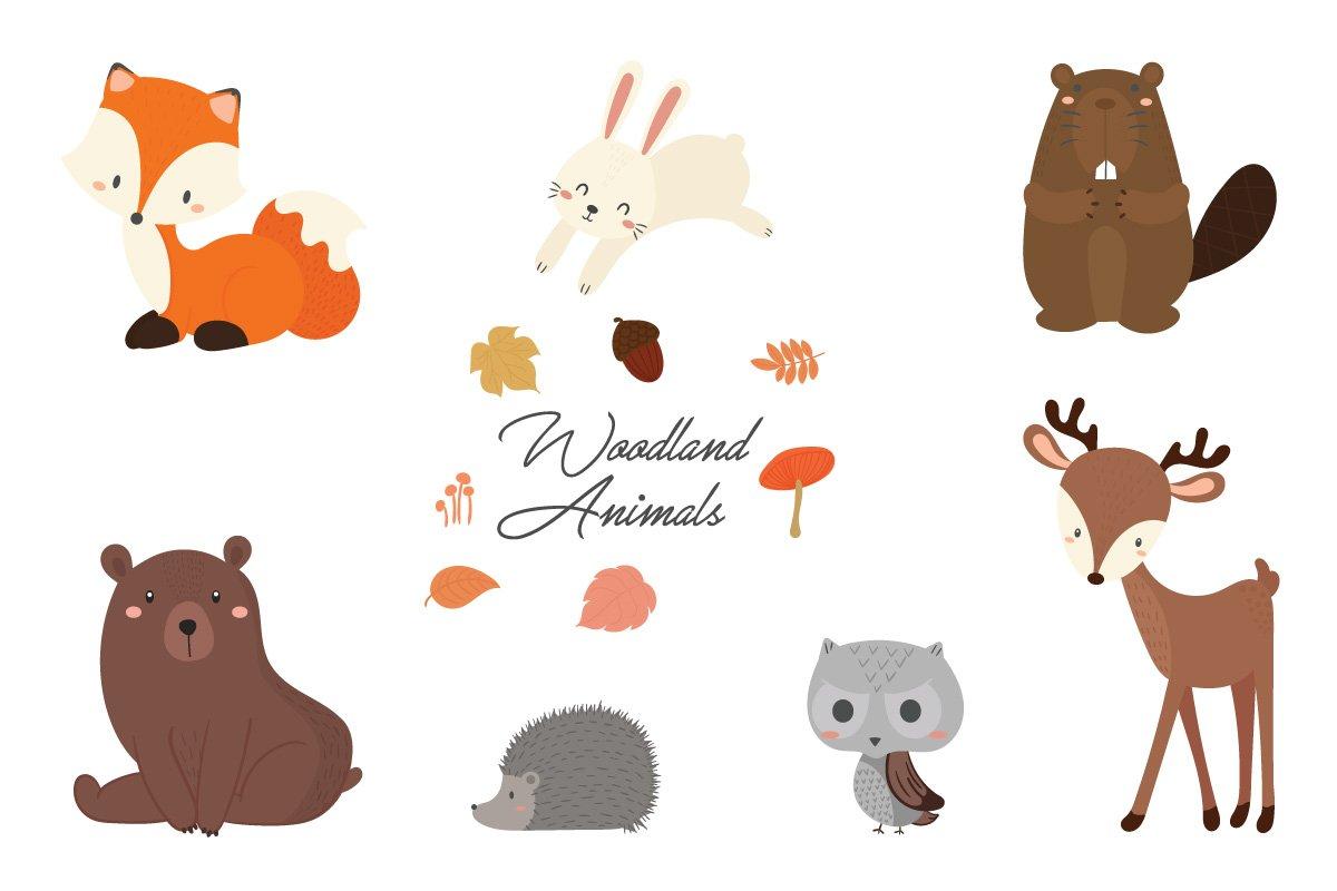 Cute woodland animal birthday party..