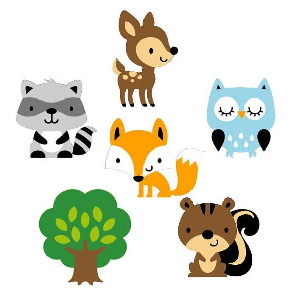 The best free Woodland clipart images. Download from 186.