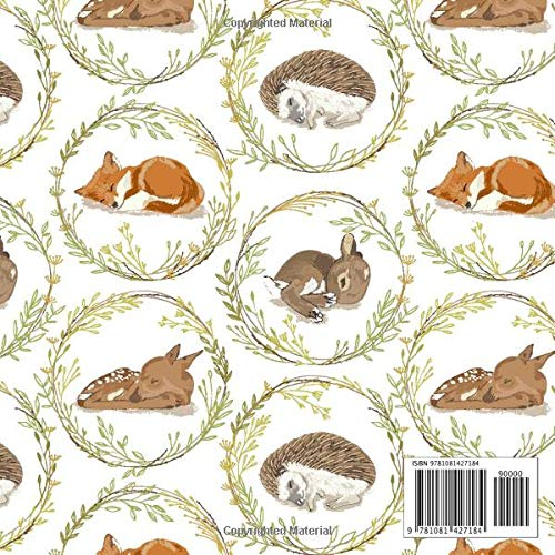 Welcome Baby baby Shower Guest Book: Woodland Animals Baby.