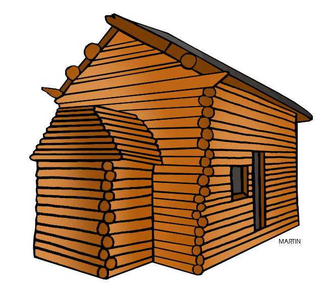 Clip art Log cabin Vector graphics Image.