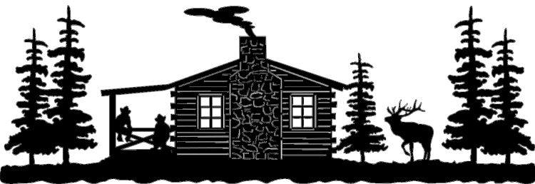 Cabin clipart scenery, Cabin scenery Transparent FREE for.