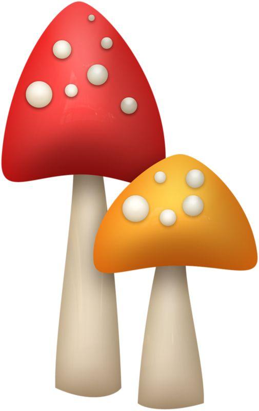 Mushroom clipart woodland mushroom, Mushroom woodland.