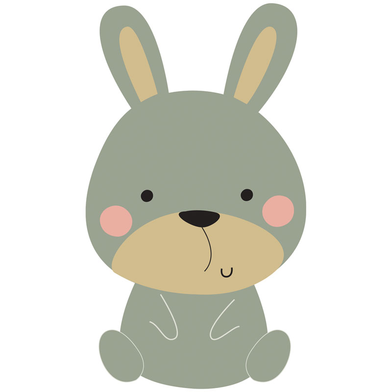 Bunny clipart woodland, Bunny woodland Transparent FREE for.