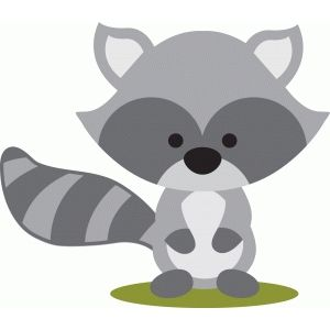Racoon clipart woodland, Racoon woodland Transparent FREE.