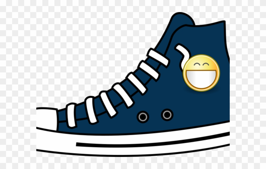 Gym Shoes Clipart High Top.