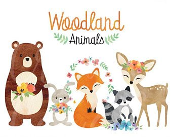 woodland theme clipart 10 free Cliparts | Download images ...