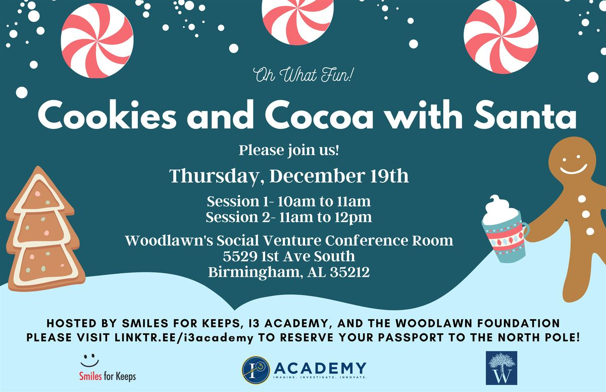 Cookies and Cocoa with Santa: Session I at SocialVenture.