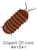 Woodlice Clipart #1.