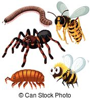Woodlice Vector Clip Art EPS Images. 4 Woodlice clipart vector.
