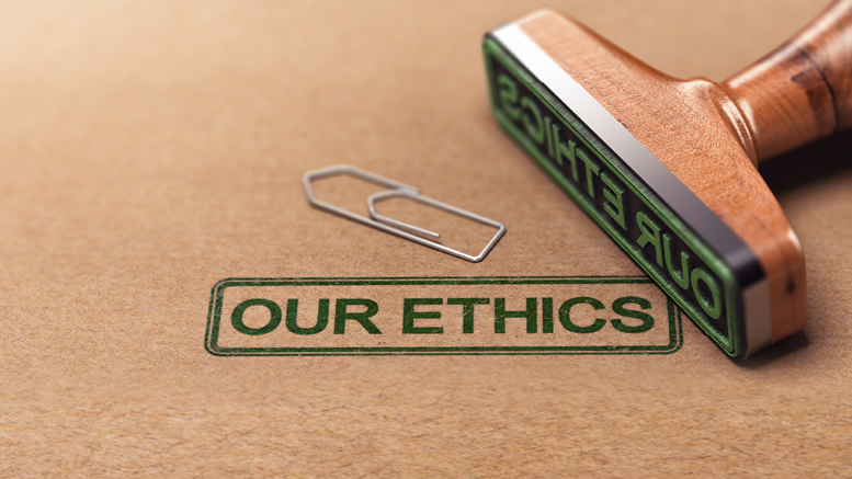 Ethics are Everyone\'s Business.