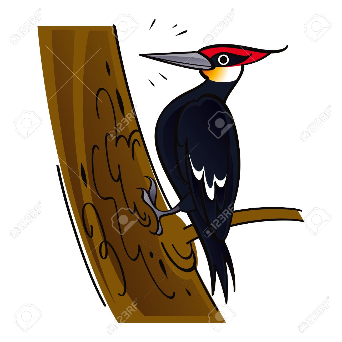 Woodpecker Bird Clip Art.