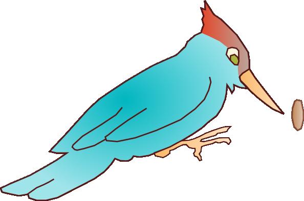 Woodpecker Bird Clip Art.