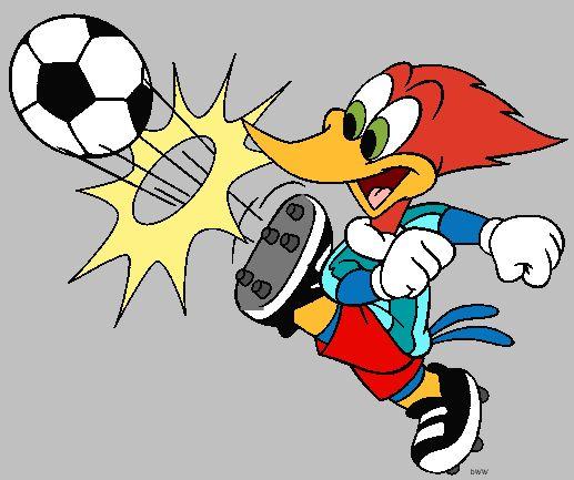 Woody Woodpecker Characters.