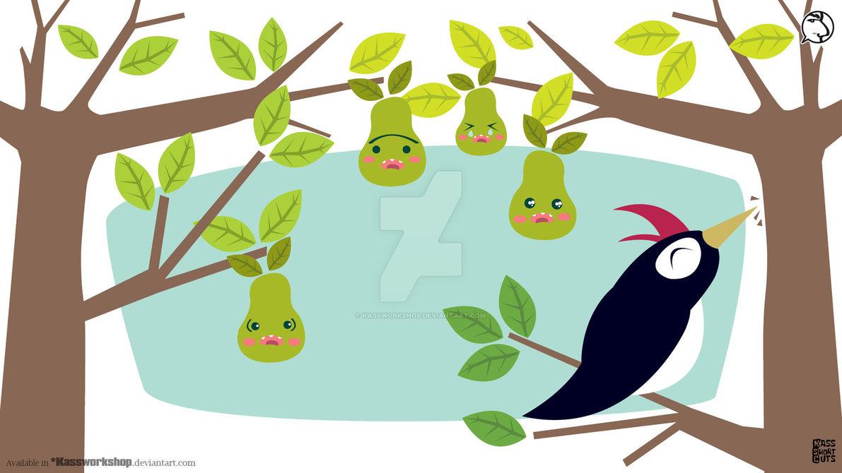 The woodpecker song by Kassworkshop on DeviantArt.
