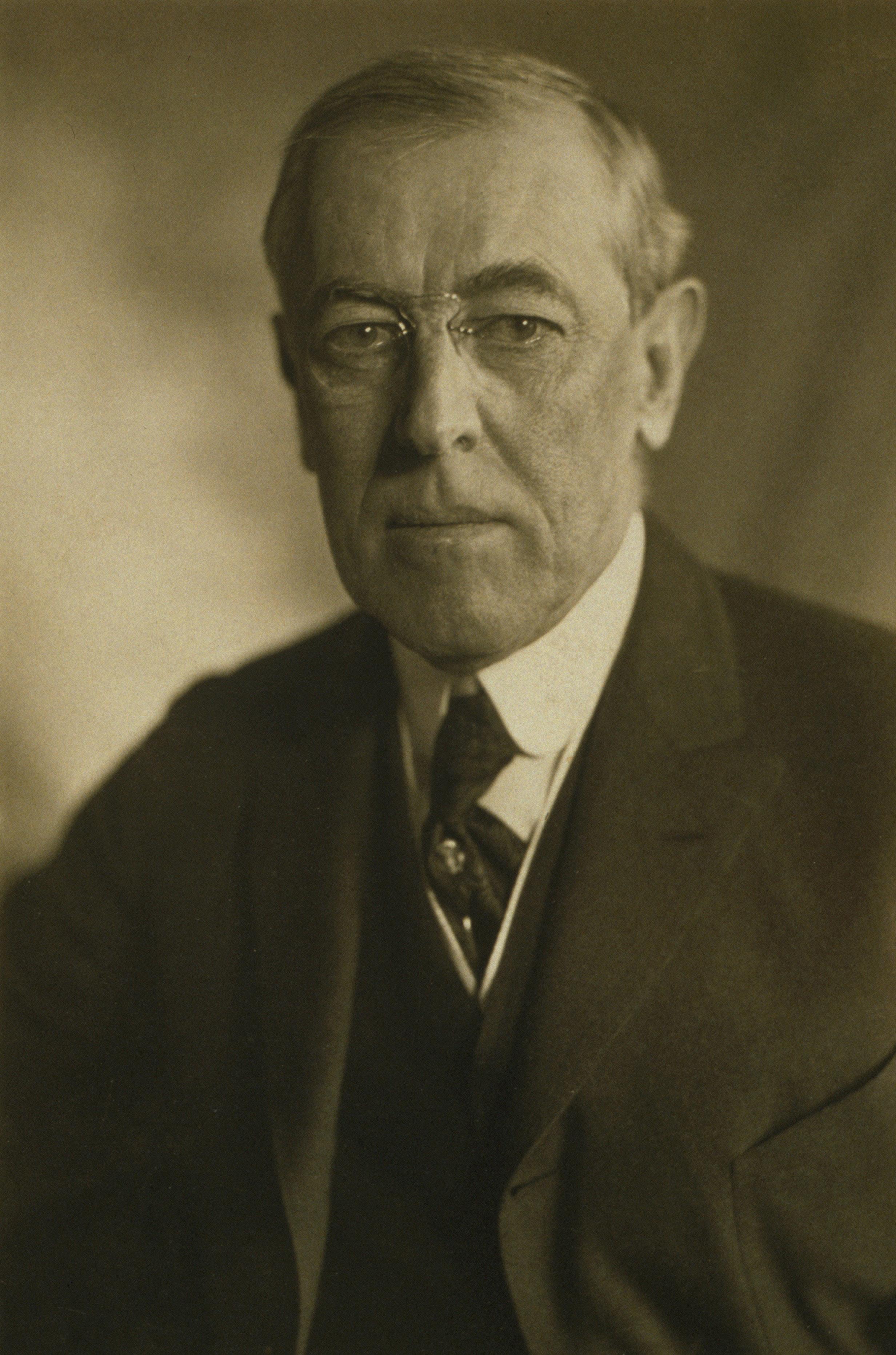 Woodrow Wilson Portrait.