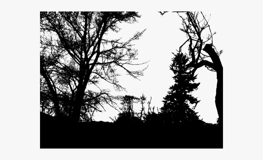 Forest Clipart Silhouette.