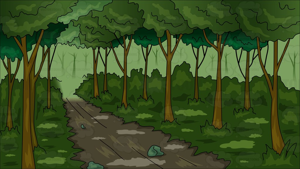 Into the Woods Clip Art.