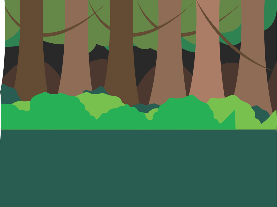 Forest Scene Clipart.