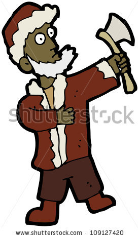 Cartoon Woodsman Axe Stock Illustration 109155956.