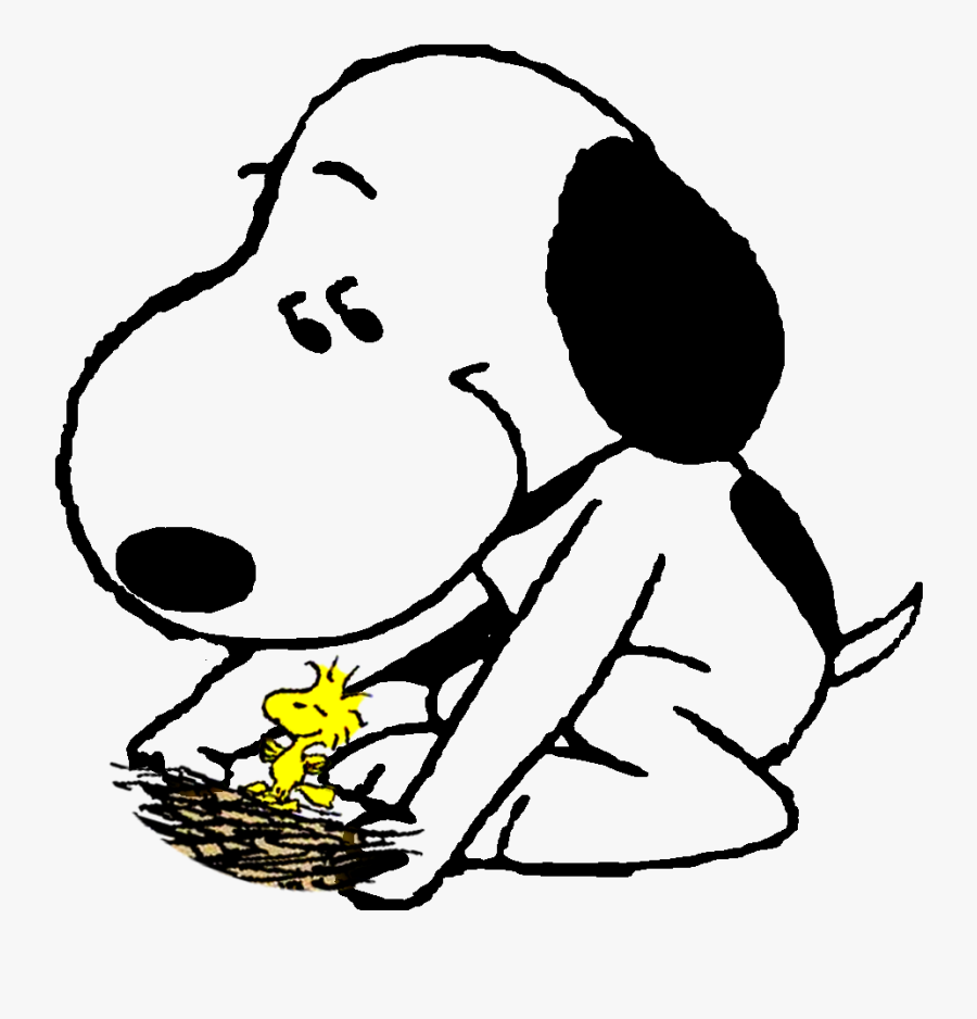 Transparent Snoopy Sleeping Png.