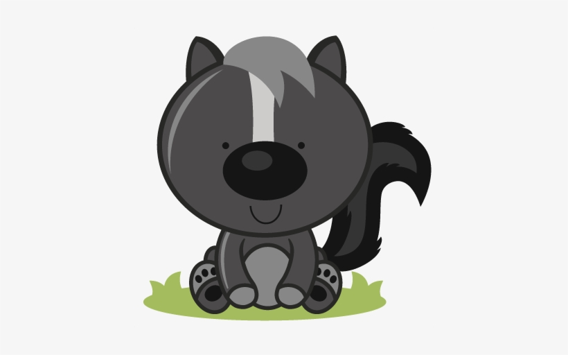 Image Transparent Baby Skunk Clipart.