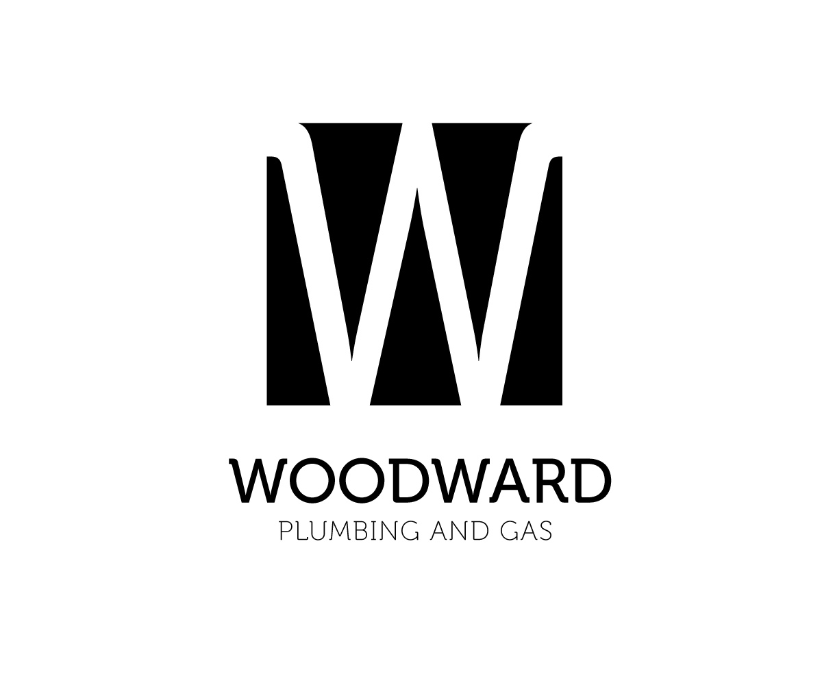 Elegant, Playful, Business Logo Design for WOODWARD PLUMBING.