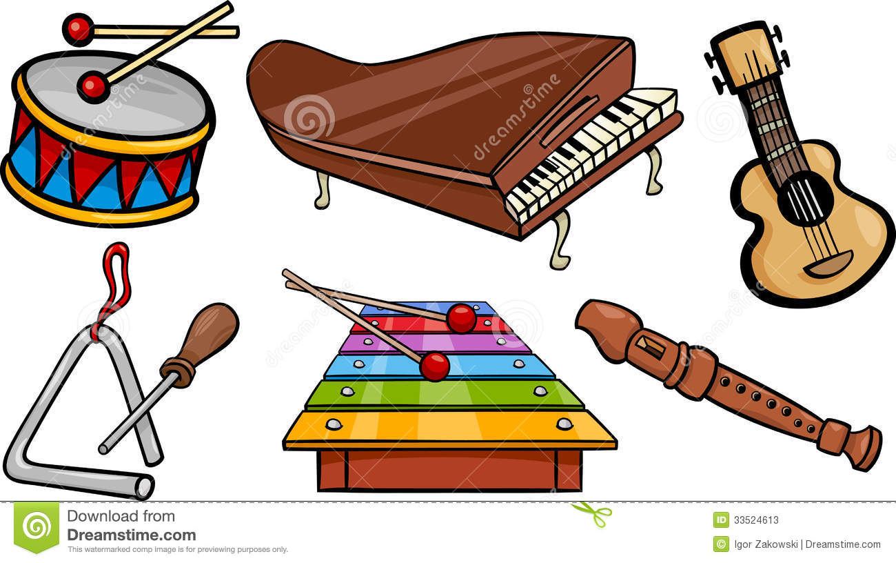 Wind Instrument Cartoons Cartoon Clipart.