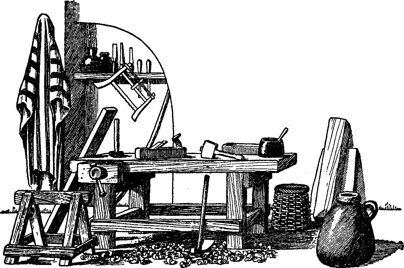 Woodwork Clipart.