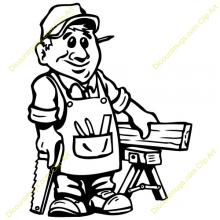 Woodworker clipart - Clipground