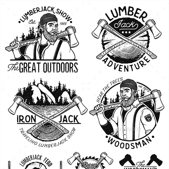 Woodworking Logo Graphics, Designs & Templates.