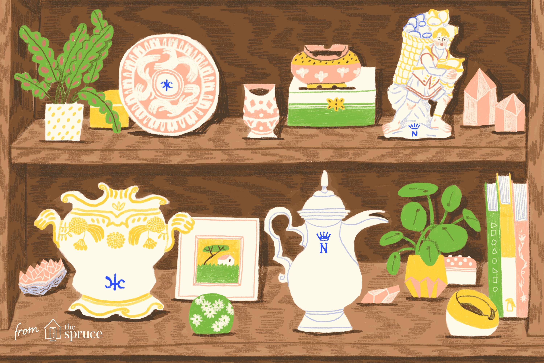 Understanding Capodimonte Italian Porcelain Marks.