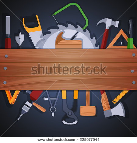 Woodwork Tools Stock Photos, Royalty.