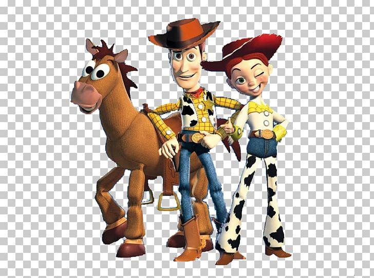 Sheriff Woody Jessie Buzz Lightyear Bullseye Toy Story PNG.