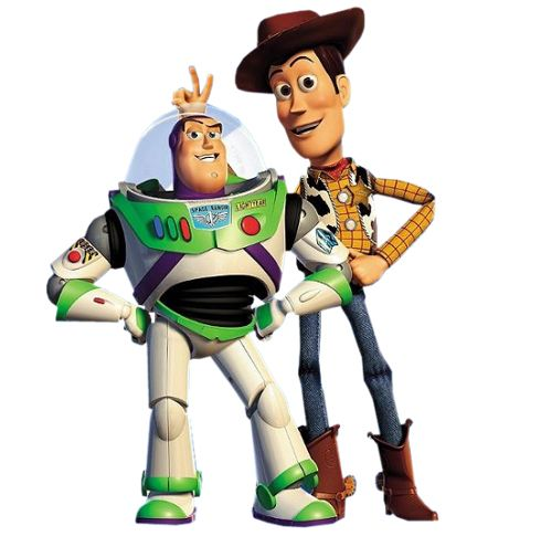 woody and buzz clip art.