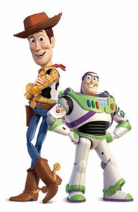 Buzz Lightyear And Woody Clipart.